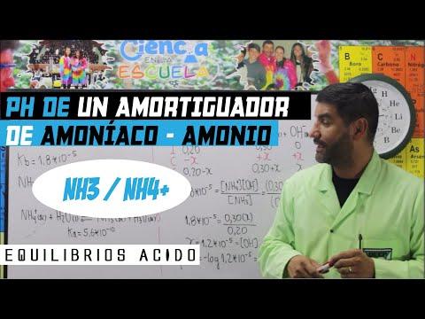 14-Equilibrioa Ácido-Base. 13.1 PH De Un Amortiguador De Amoníaco-Amonio (NH3/NH4+)