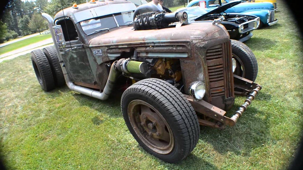 Diesel Powered Rat Rod Truck
