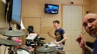 Drumming fun grade 4 with erm er interesting vocals
