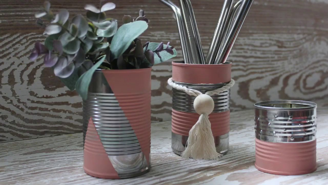 3 #BOHO Ways To Upcycle Your Cans - Part 3