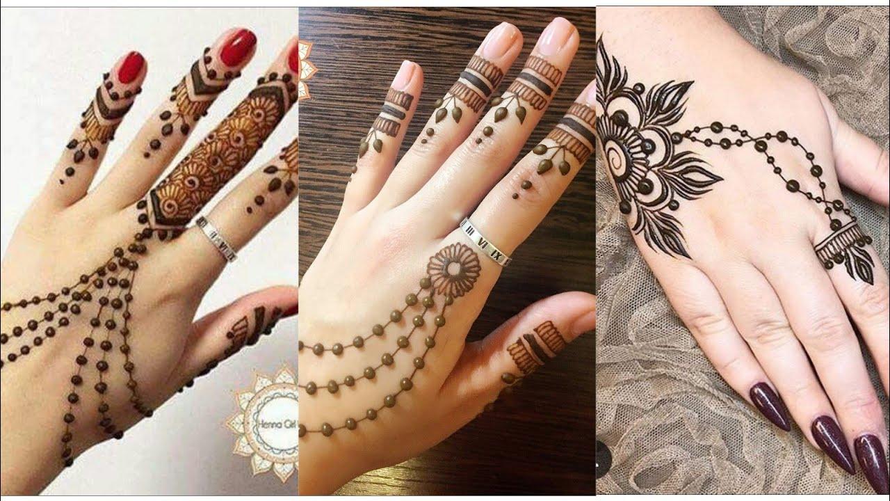 mehndi design simple indian