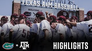 Baseball: Highlights | A&M 7, Florida 3