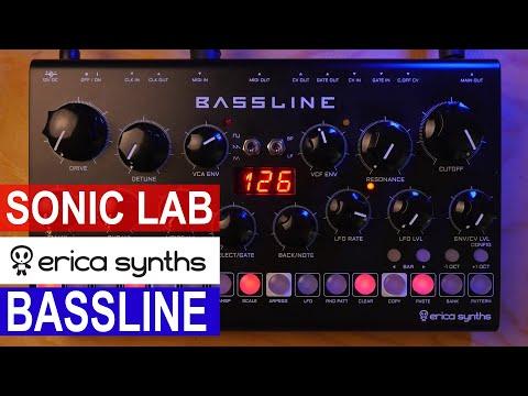 Sonic LAB - Erica Synths DB-01 Bassline