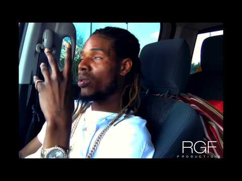 Fetty Wap Freestyles In Car