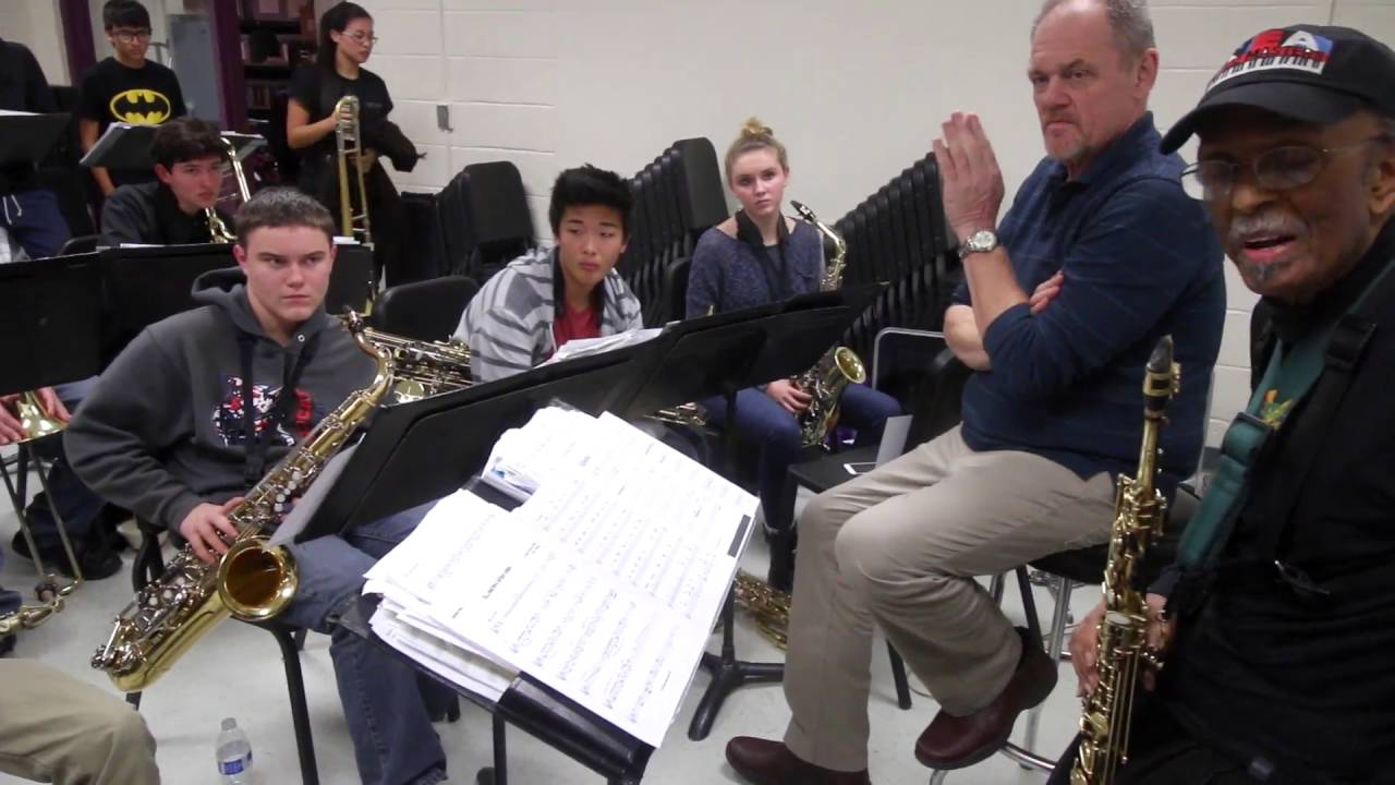 Passing the Torch: Rehearsal with Jimmy Heath for the Tucson Jazz Festival