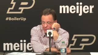 Tom Crean - Postgame Press Conference vs. Purdue