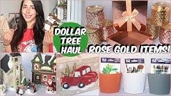 DOLLAR TREE HAUL 2018 NEW ROSE GOLD ITEMS