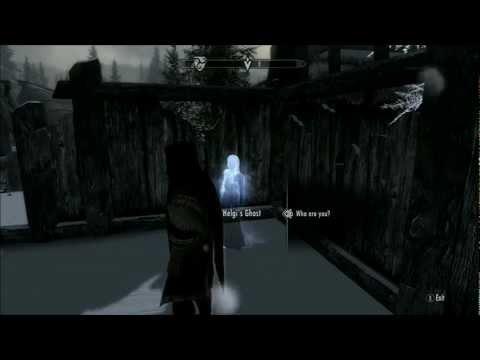 Skyrim: Find Helgi After Dark