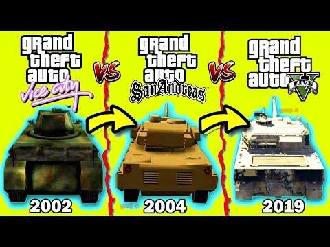 Como Cambio el TANQUE De GTA 2001 - 2019 - Grand Theft Auto thumbnail