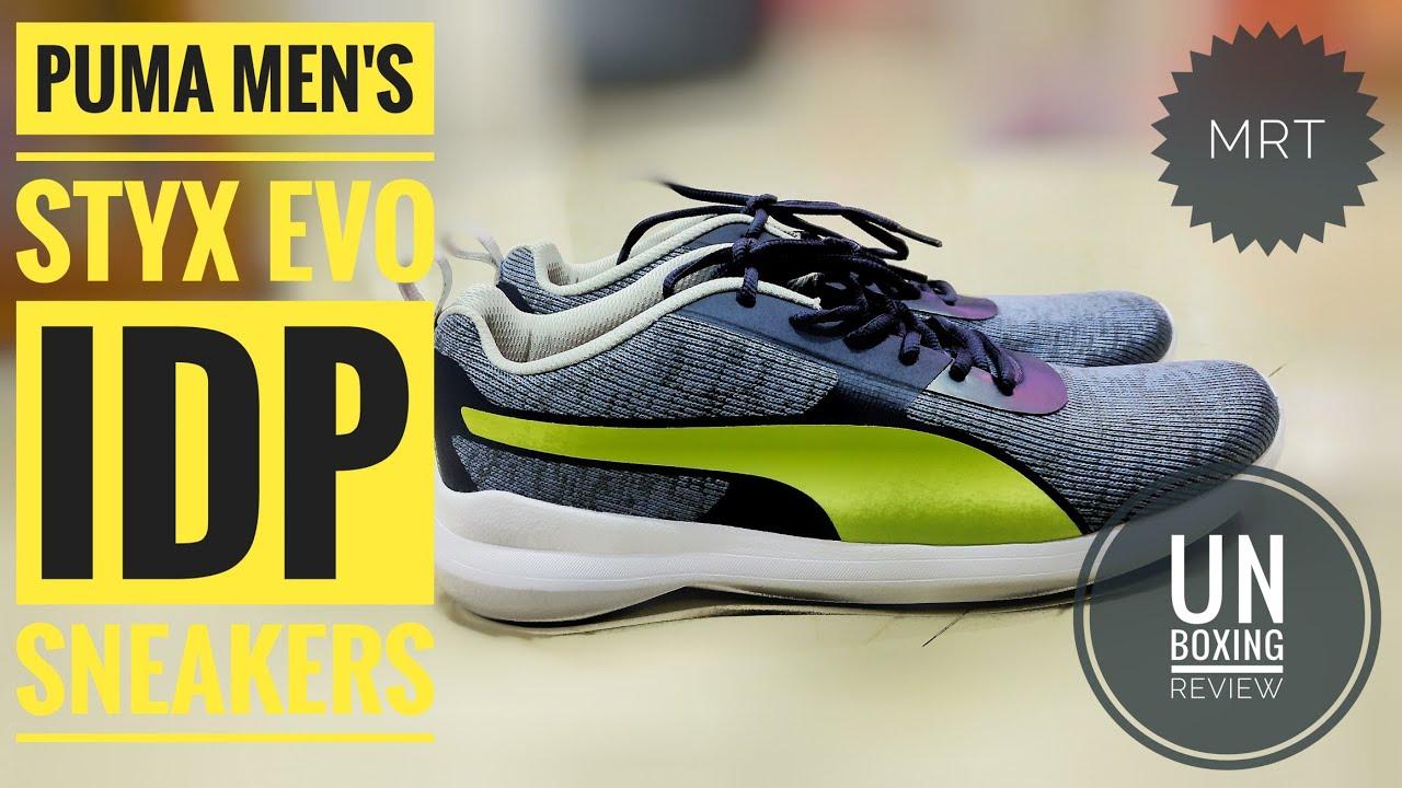 Puma Men's Styx Evo Idp Sneakers - YouTube