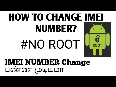 HOW TO CHANGE  IMEI NUMBER   HOW TO FIND STOLEN MOBILE IN TAMIL   JS TECH INFO