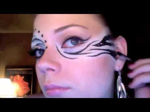 Zebra Makeup Tutorial Youtube