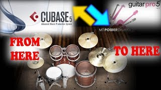 vuclip Import/Export Midi Drums from Cubase 5 to Guitar Pro 5