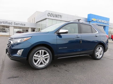 2019 Chevrolet Equinox Premier AWD Pacific Blue Metallic ...