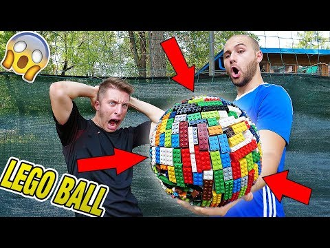 Download Youtube: PALLA CON 5000 LEGO - Test LEGO Ball