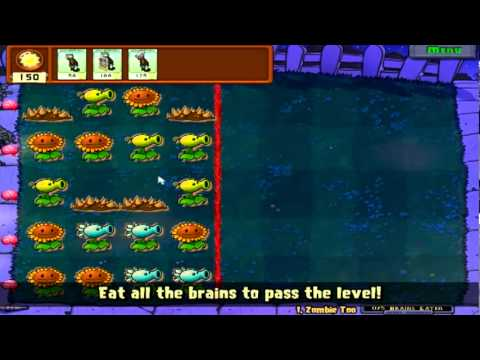 Plants Vs. Zombies Part 13: Mini-Game Quickie