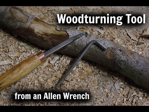 Woodturning Tool   Allen Key
