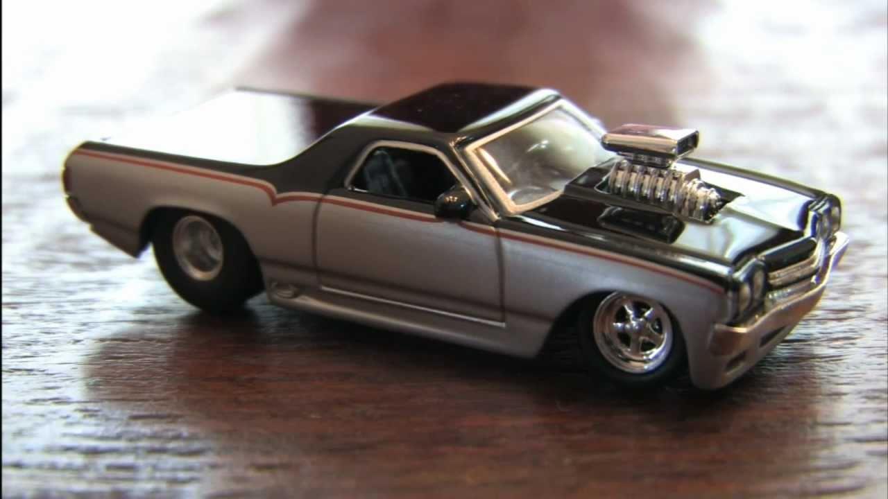 big time muscle el camino jada toys car reviewcgr garage - youtube