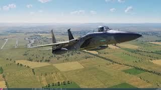 DCS World 2.5.1 Beta: F-15C The Georgian War Campaign Mission 12 (1440p)