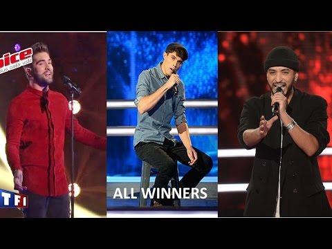 Tous les vainqueurs (All Winners) | The Voice France