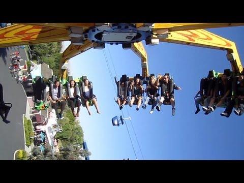 Delirium on-ride HD POV California's Great America