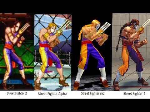 Download Evolution of Vega Spanish Street Fighter 1991-2017