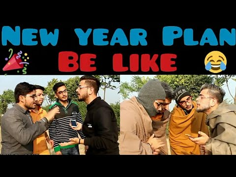 New Year Plan Be Like | Funny Video | PBVB (New Year Special Funny Video )