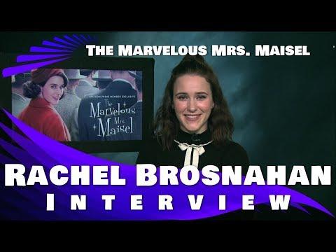 THE MARVELOUS MRS. MAISEL - RACHEL BROSNAHAN INTERVIEW