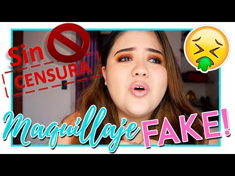 Download Youtube: Replicas / fake makeup / maquillaje imitación | Hablemos de - Vanessa Bacca