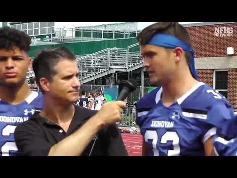 2019 Shore Conference Interviews - Donovan Catholic
