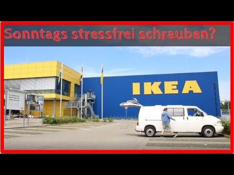 Ich baue mein Sofa auf dem Ikeaparkplatz um | Ausbauvlog #03