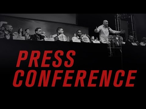 UFC 198 Press Conference: Tickets On-Sale