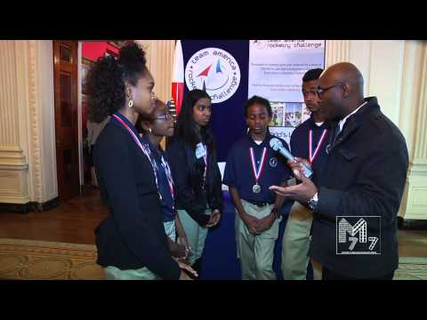 The 5th WH Science Fair   U S  Virgin Islands Students Showcase Rockets