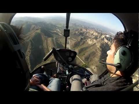 Robinson R22 Helicopter Lesson (GoPro)