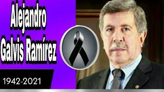 ÚLTIMA HORA FALLECE ALEJANDRO GALVIS RAMÍREZ PRESIDENTE CORPORATIVO DE VANGUARDIA DE LUTO COLOMBIA