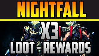 "Destiny Recompensas Semanales OCASO X3 ""PURA BASURA"" - Nightfall Rewards Alak Hul"