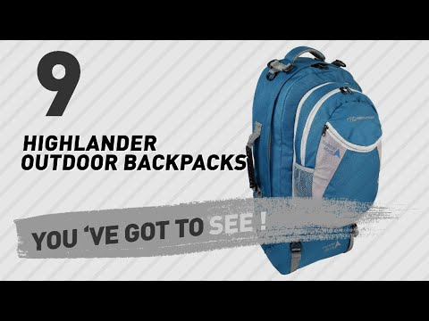 Top Backpacks By Highlander Outdoor // New & Popular 2017