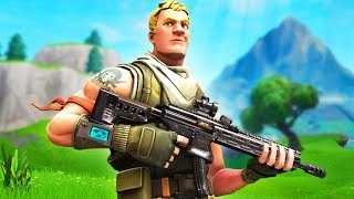 First time using the NEW Tactical AR in Fortnite...