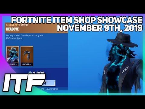 Fortnite Item Shop *NEW* DEADEYE SET! [November 9th, 2019] (Fortnite Battle Royale)