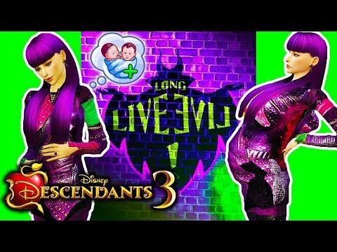 👶🍼 MAL IS HAVING A BABY! But who's the father..? 👶🍼 Descendants 3 Sims 4 (Ep 9)