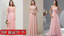 Top Pink bridesmaid dresses, long bridesmaid dresses for women