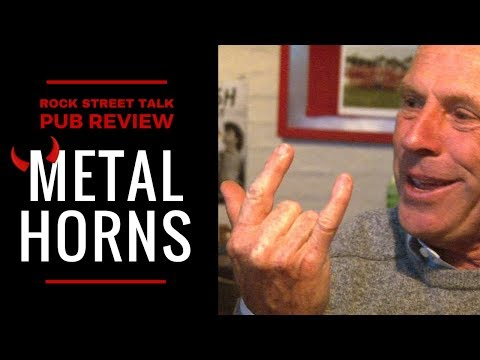ROCK STREET TALK at THE BULL & MOUTH HOTEL | What Are Metal Horns