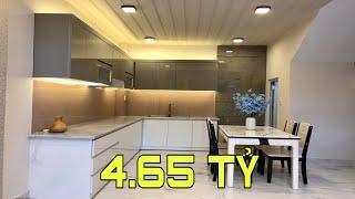 Bán nhà Gò Vấp( 105 )Nhà giá rẻ 4.65 tỷ đúc lững 3 lầu rất đẹp và chắc chắn tại Cây Trâm P9 Gò Vấp