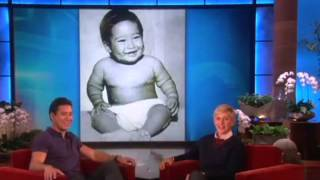 Mario Lopez Introduces His New Son on Ellen show