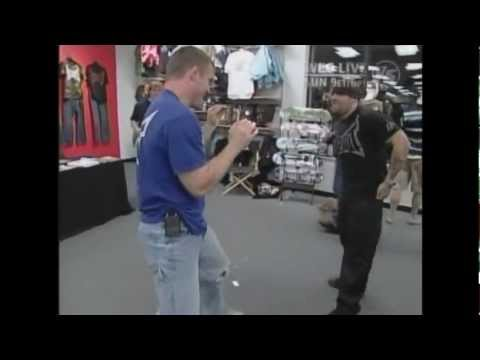 Matt Hughes fight in gift shop