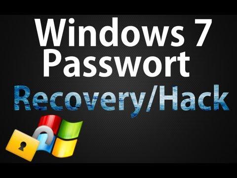 Windows 7 Passwort vergessen? Kein Problem ! (Recovery/Hack Tutorial)