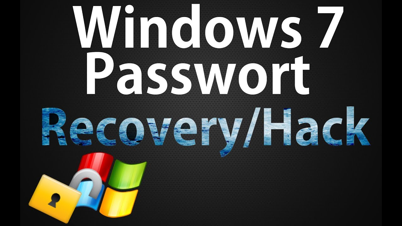 windows passwort wiederherstellen