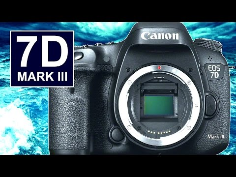 Will the Canon 7D Mark III Be the 1st 4K Canon APS-C DSLR?