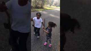Little Boy & His Sister Spitting Knowledge about Society