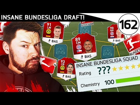 INSANE BUNDESLIGA DRAFT! - FUT DRAFT TO GLORY #162